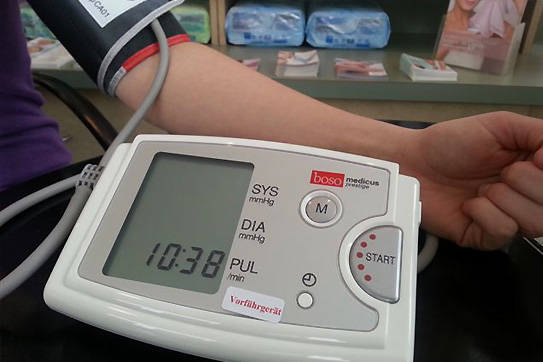 Blutdruckkontrolle